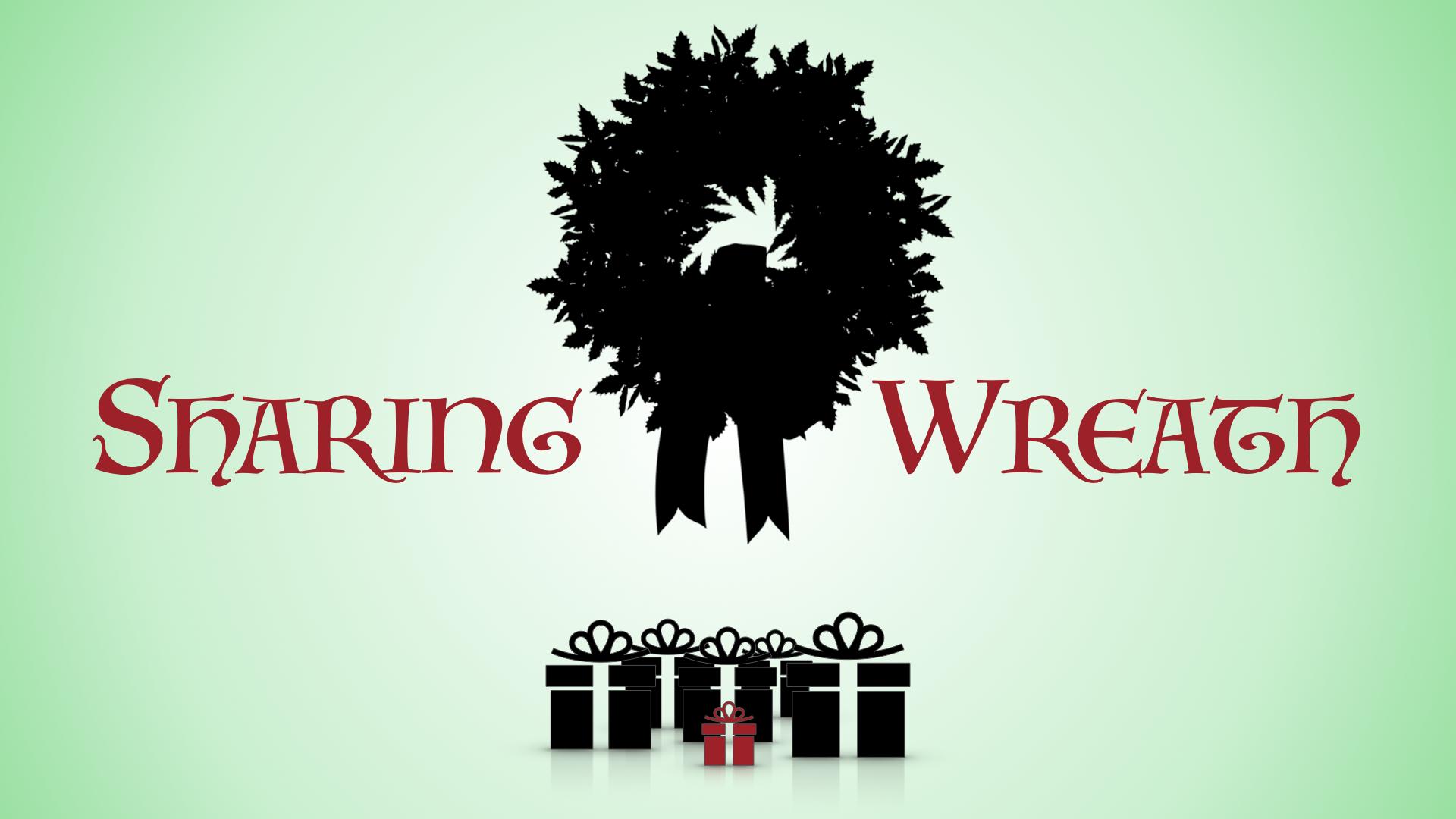 Christmas Sharing Wreath