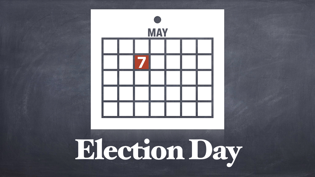 May 7 Election Day at RLC