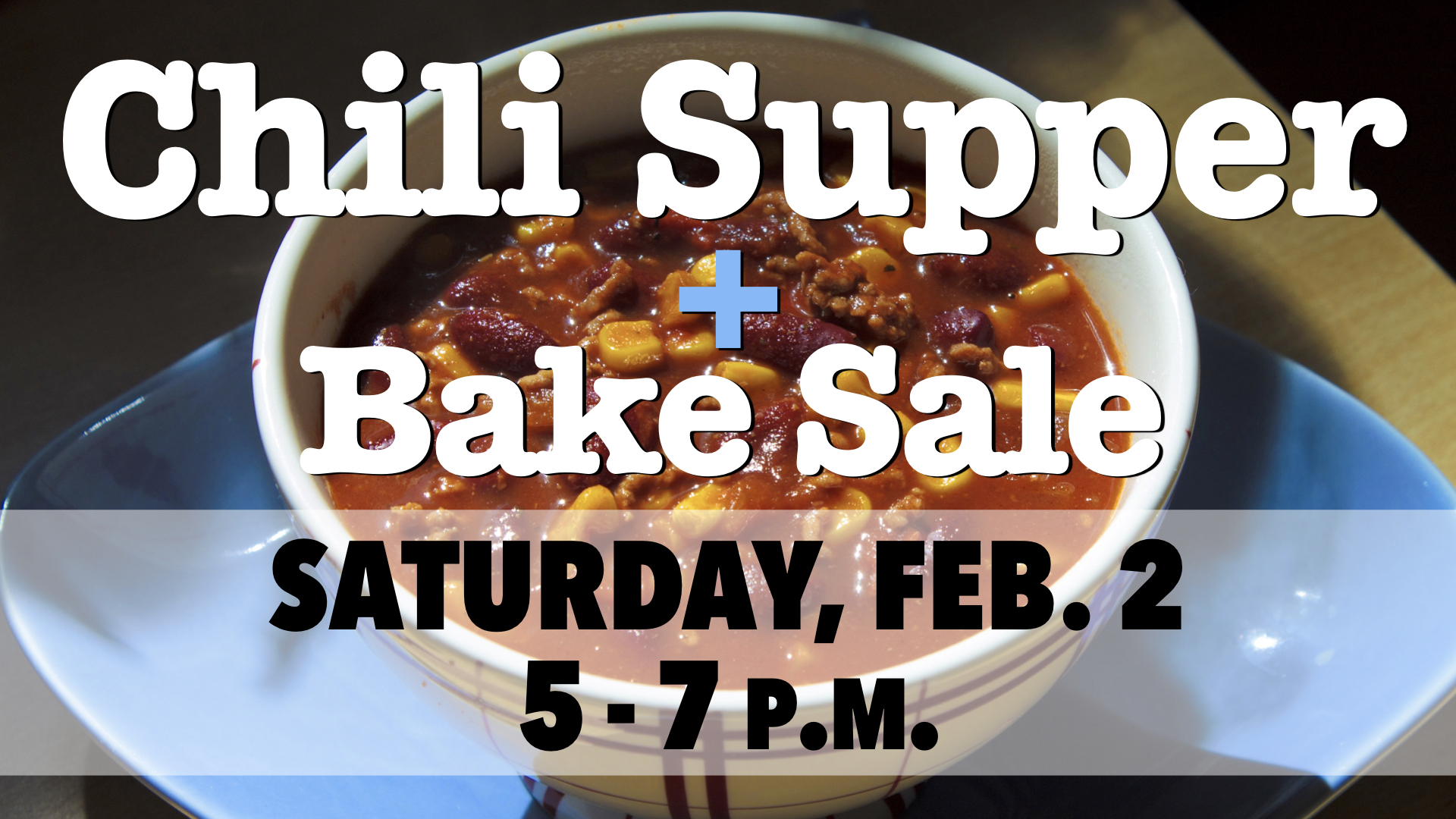 Cub Scouts Pack 120 Chili Supper & Bake Sale