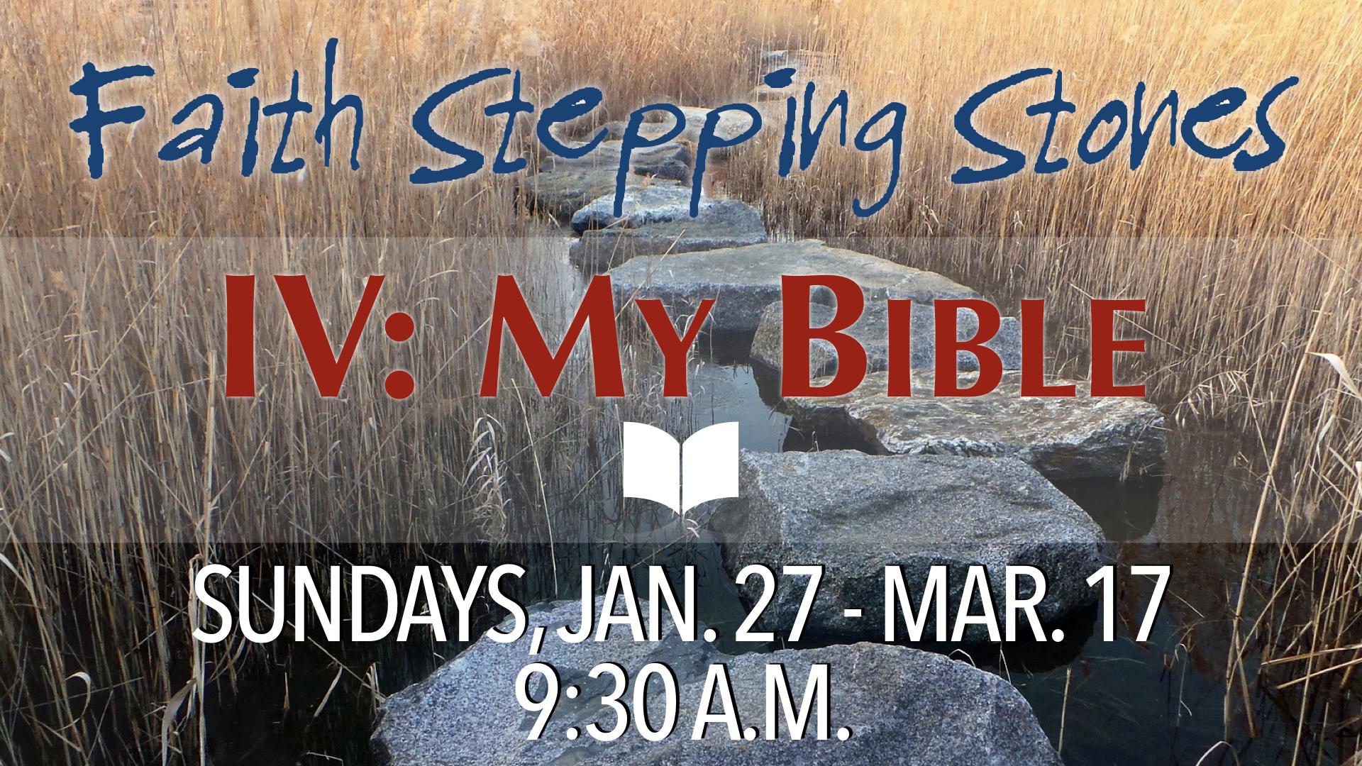 Faith Stepping Stones IV: My Bible
