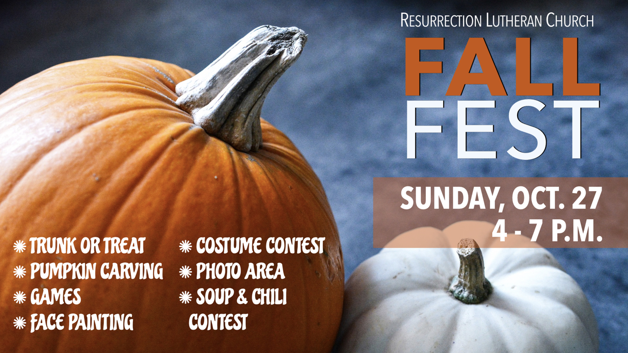 RLC's Fall Fest on Sunday, Oct. 27 from 4-7 p.m.