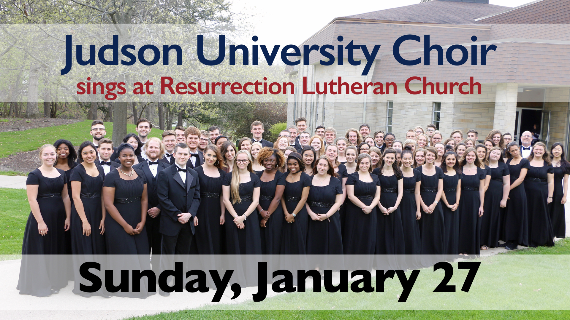 Judson University Choir sings at RLC