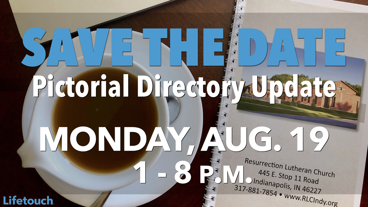 Lifetouch Pictorial Directory Update Monday, Aug. 19 from 1-8 p.m.