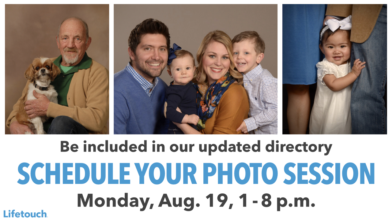 Schedule Your Photo Session with Lifetouch on Monday, Aug. 19 from 1 to 8 p.m.