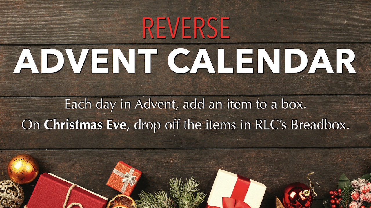 2019 RLC Reverse Advent Calendar