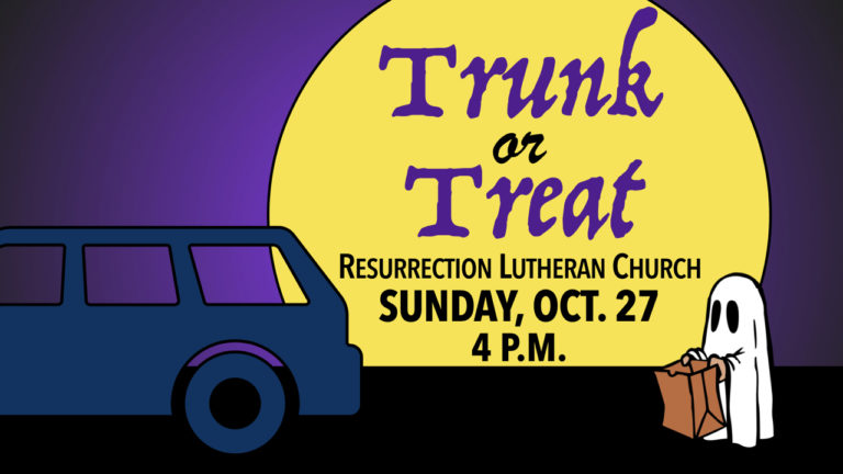 RLC's Annual Trunk or Treat on Sunday, Oct. 27 at 4 p.m.