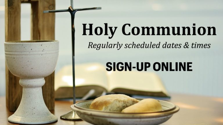Sign-up Online for Holy Communion