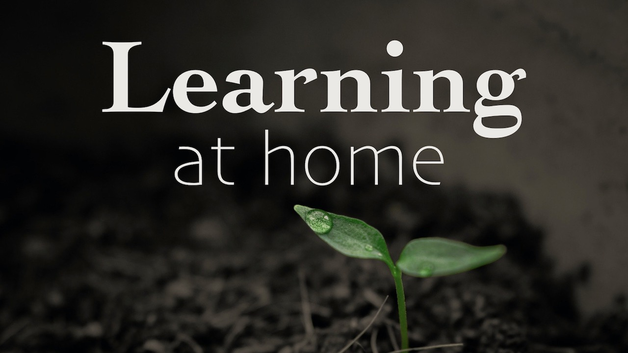 Learning at Home: Digital Materials for Faith Formation at Home