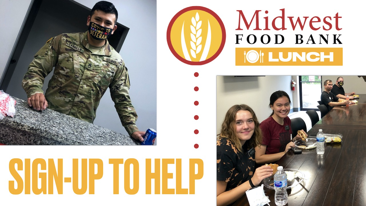 Sign-up to Help with Midwest Food Bank Lunch