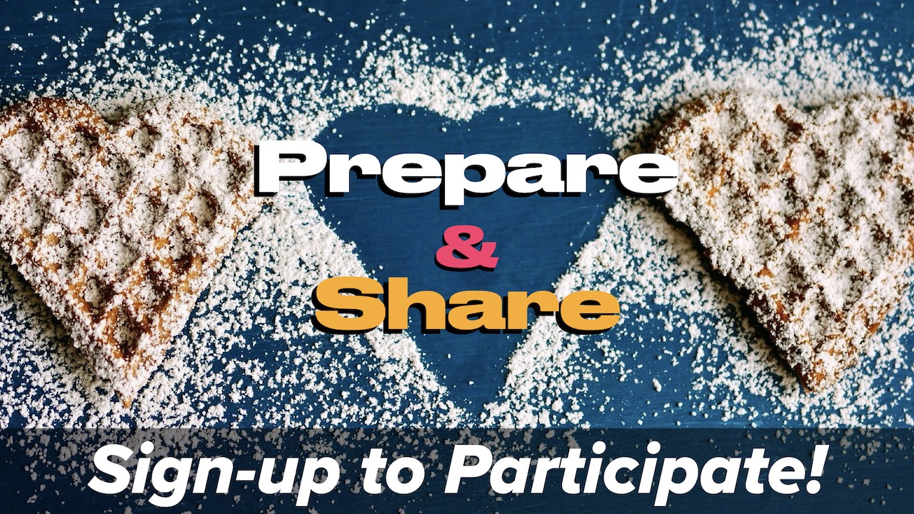 Prepare & Share Small Group Food Exchange Signup