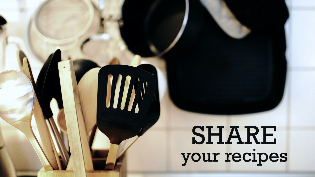 Share your recipes with connect@rlcindy.org to help RLC create a cookbook for our young adults