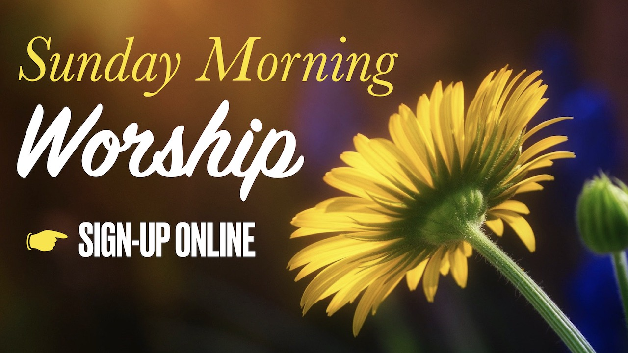 RLC Sunday Morning Worship Online Signup