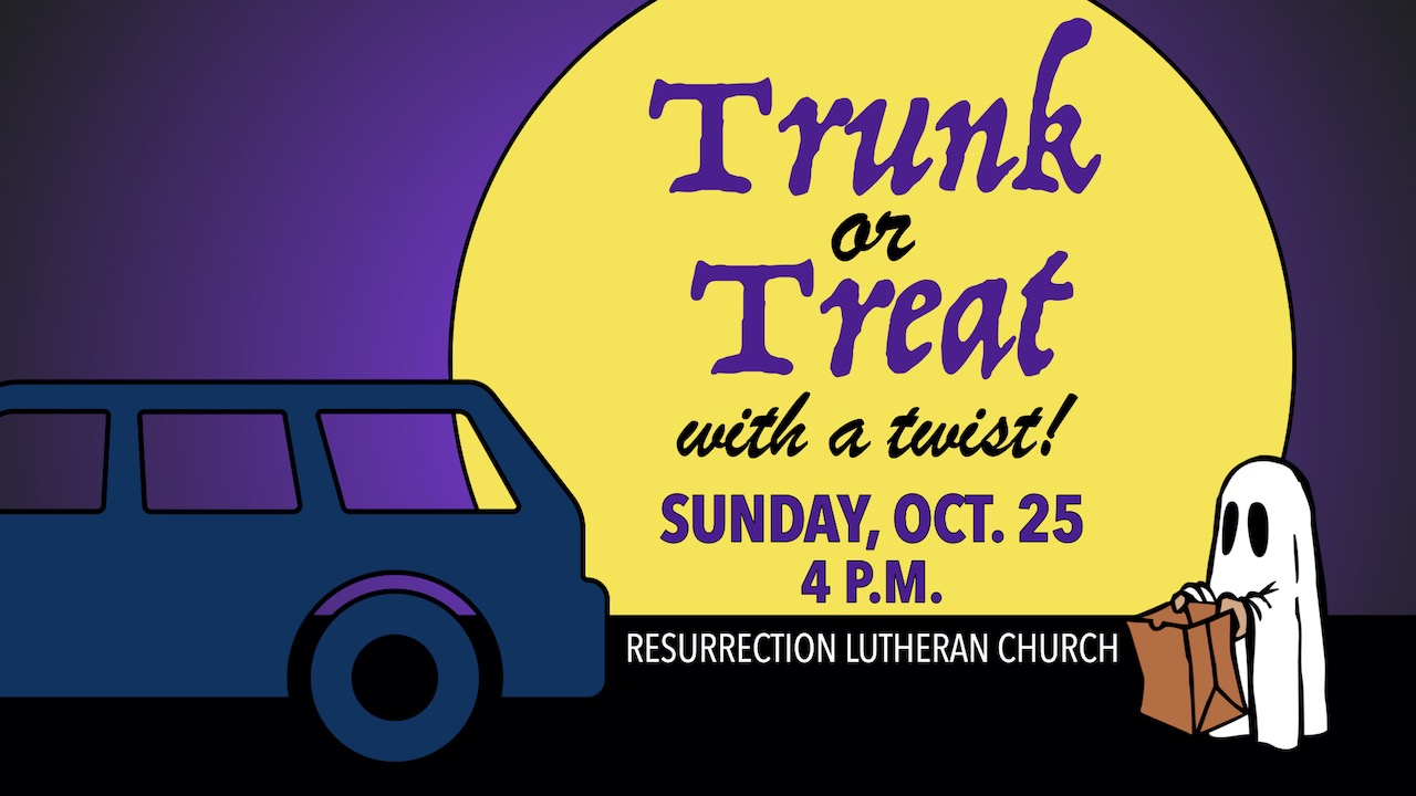 RLC 2020 Trunk or Treat with a Twist on Sunday, Oct. 25 at 4 p.m.