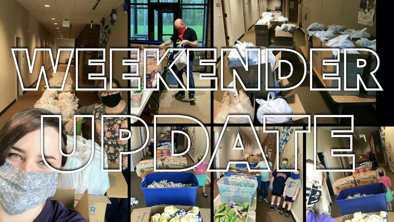 Weekender Food Ministry Update