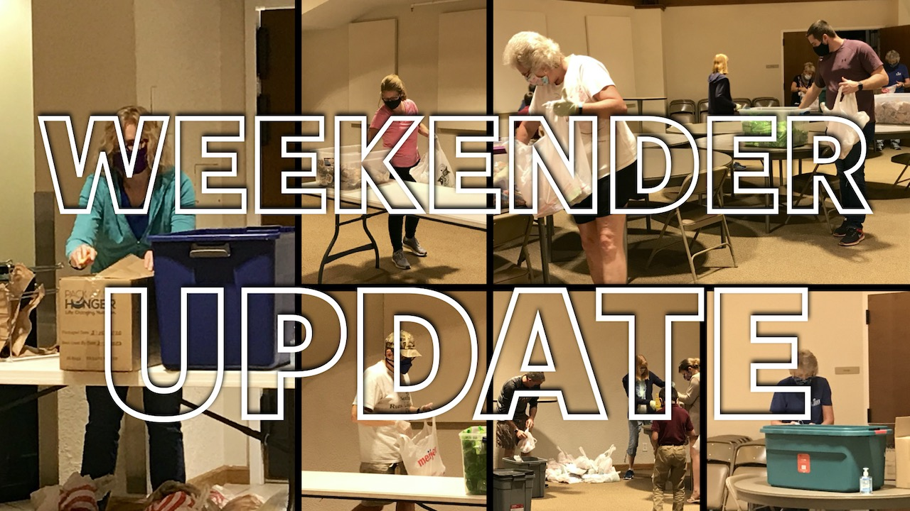 RLC Weekender Backpack Ministry Team Update, Fall 2020