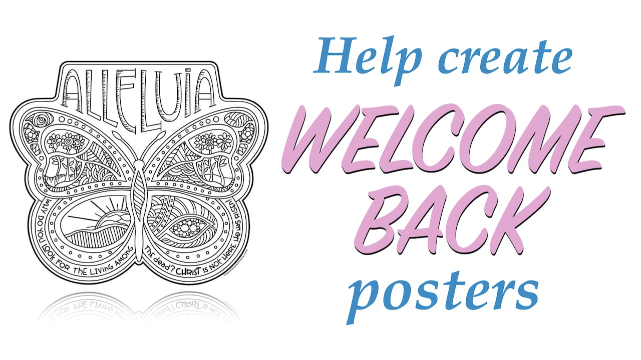 Help Create Welcome Back Poster for RLC