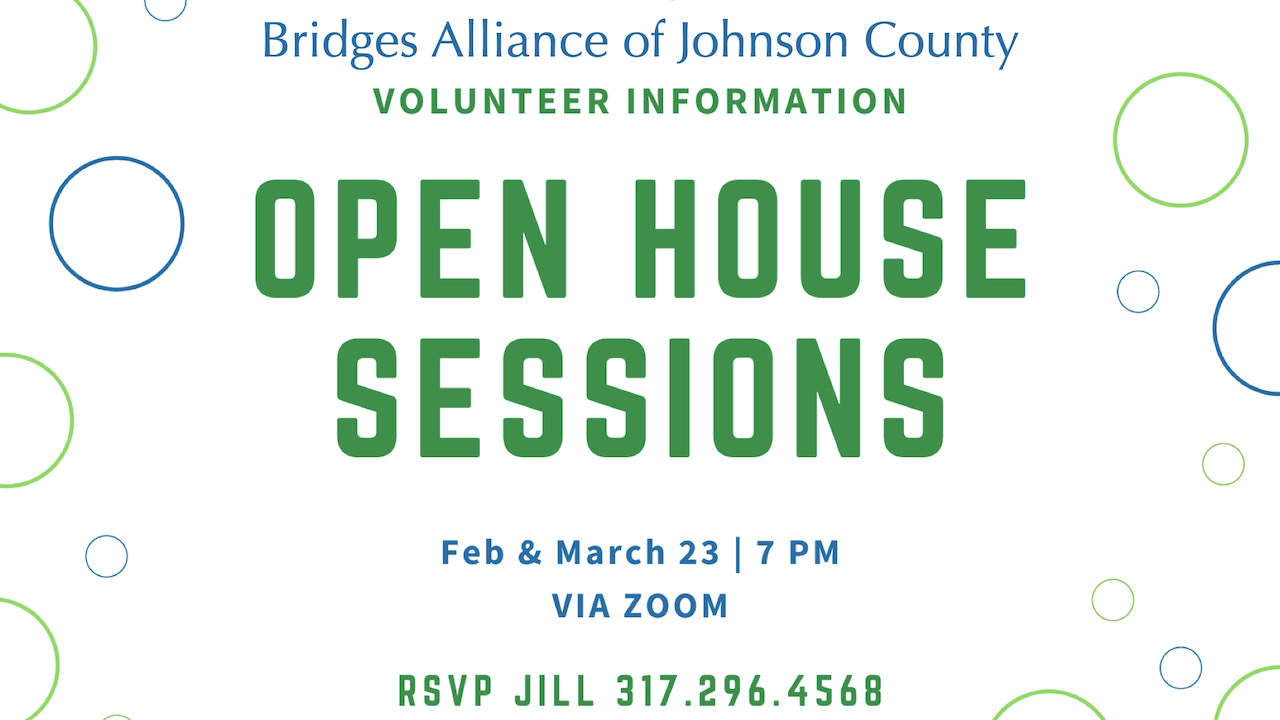 Bridges of Johnson County Open House Sessions