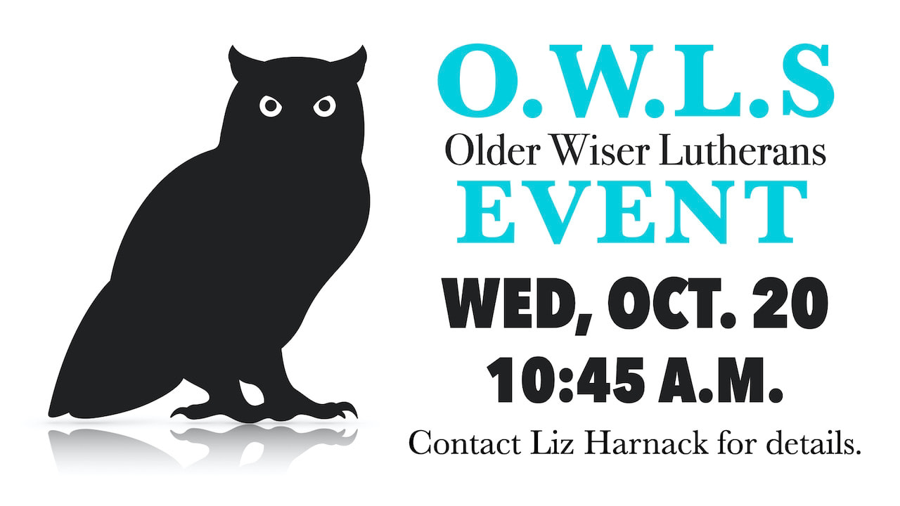 Resurrection O.W.L.s Events on Wednesday, Oct. 20 starting at 10:45 a.m.