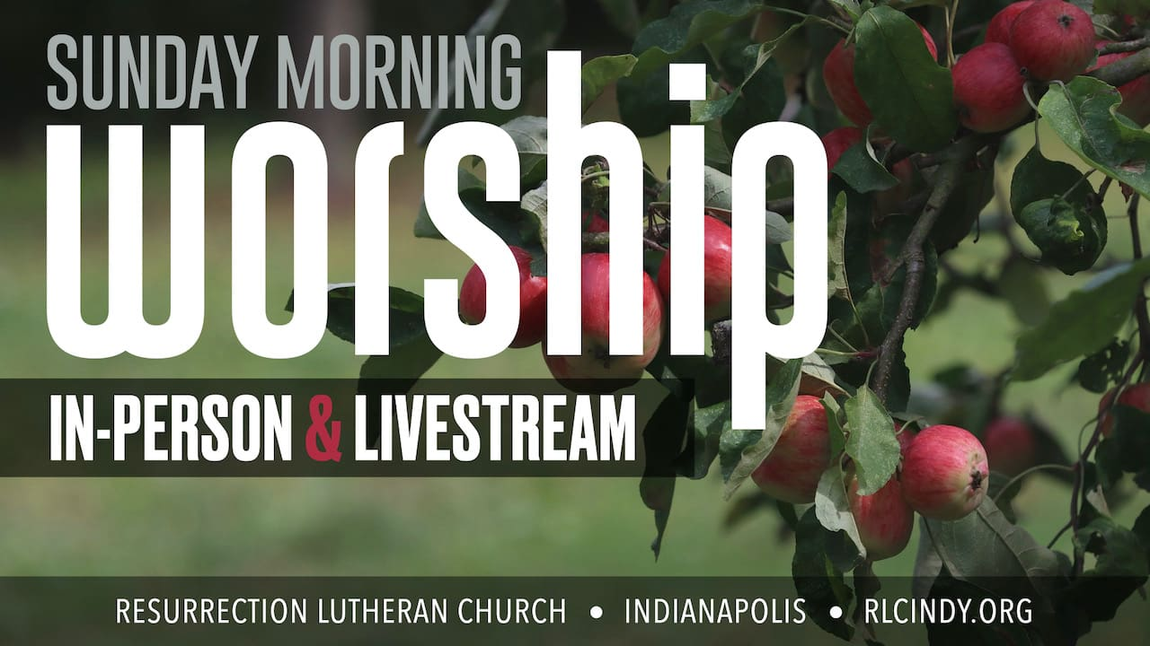 RLC Sunday Morning In-Person Worship & Livestream