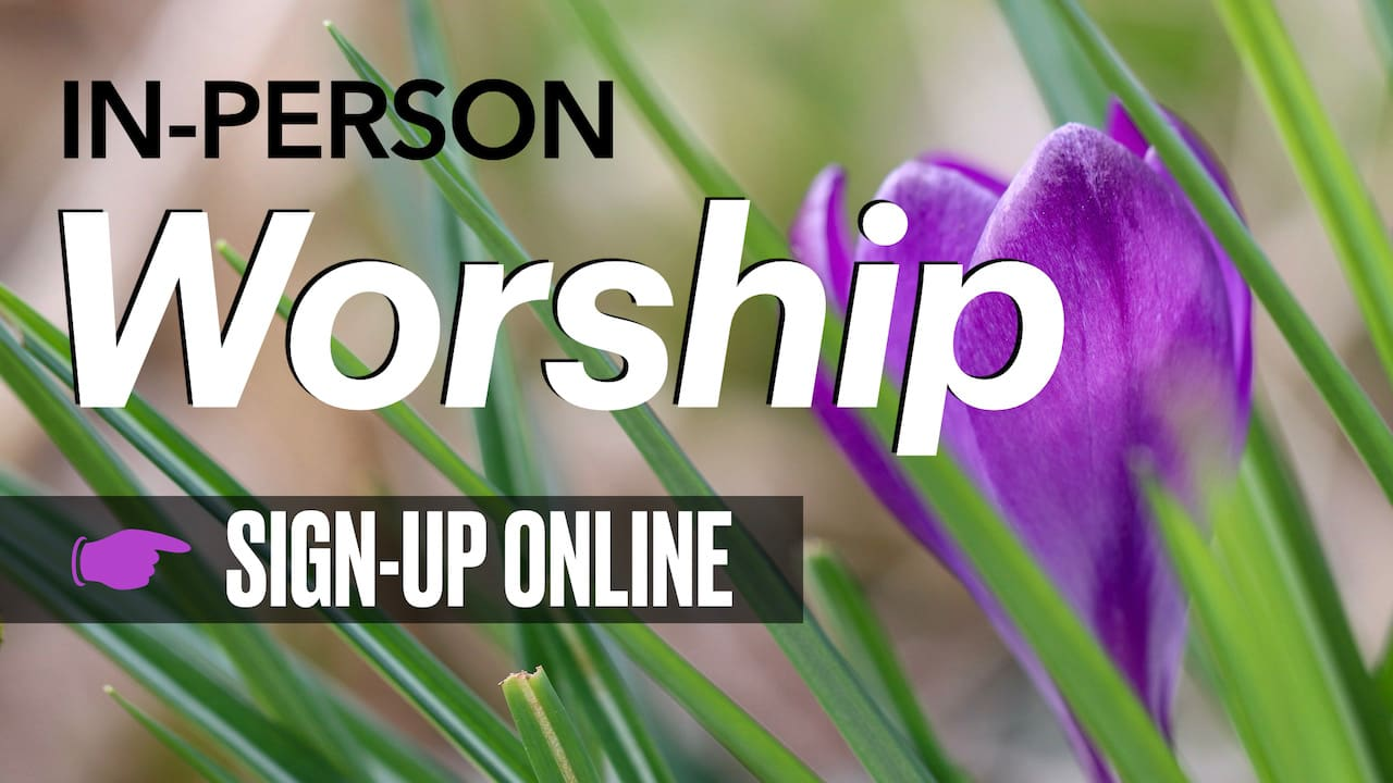 In-Person Sunday Morning Worship with Resurrection Lutheran Church Online Sign-up
