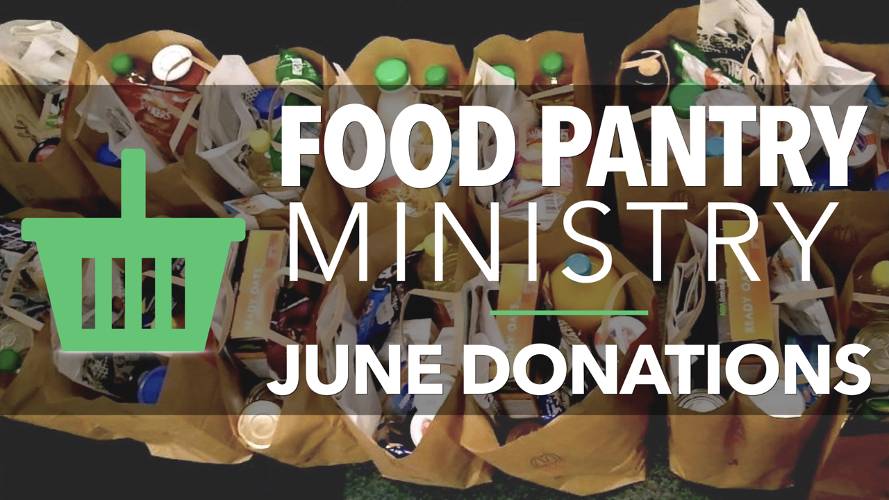 RLC Food Pantry Ministry June Donations